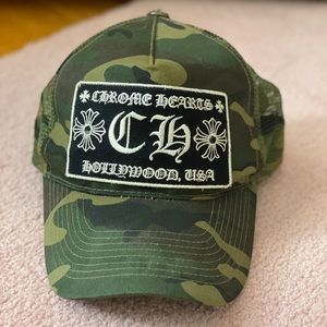 Chrome Hearts Camouflage Hat